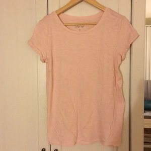 Blush pink top. Size small.
